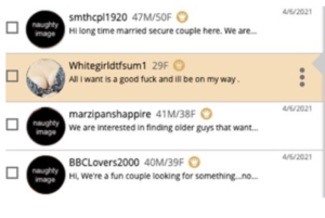 messages on adultfriendfinder