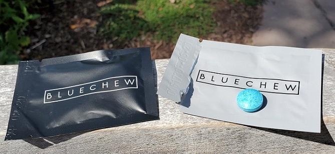 bluechew outside of the wrapper