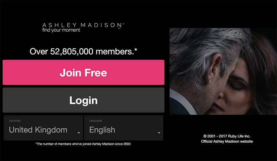reviewing ashley madison as a platform